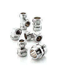 Chrome Plated fittings now available at QS Supplies UK