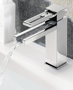 Waterfall Basin Mixer Taps