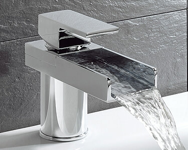 Waterfall Basin Mixer Taps